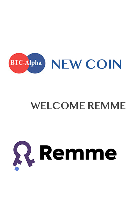 BTC-Alpha crypto exchange informs about listing of REMME (REM)