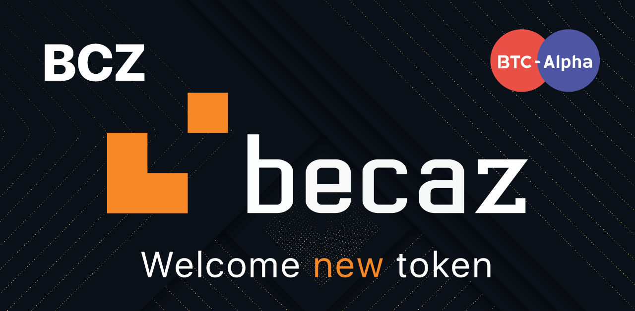 Becaz has been integrated to BTC-Alpha