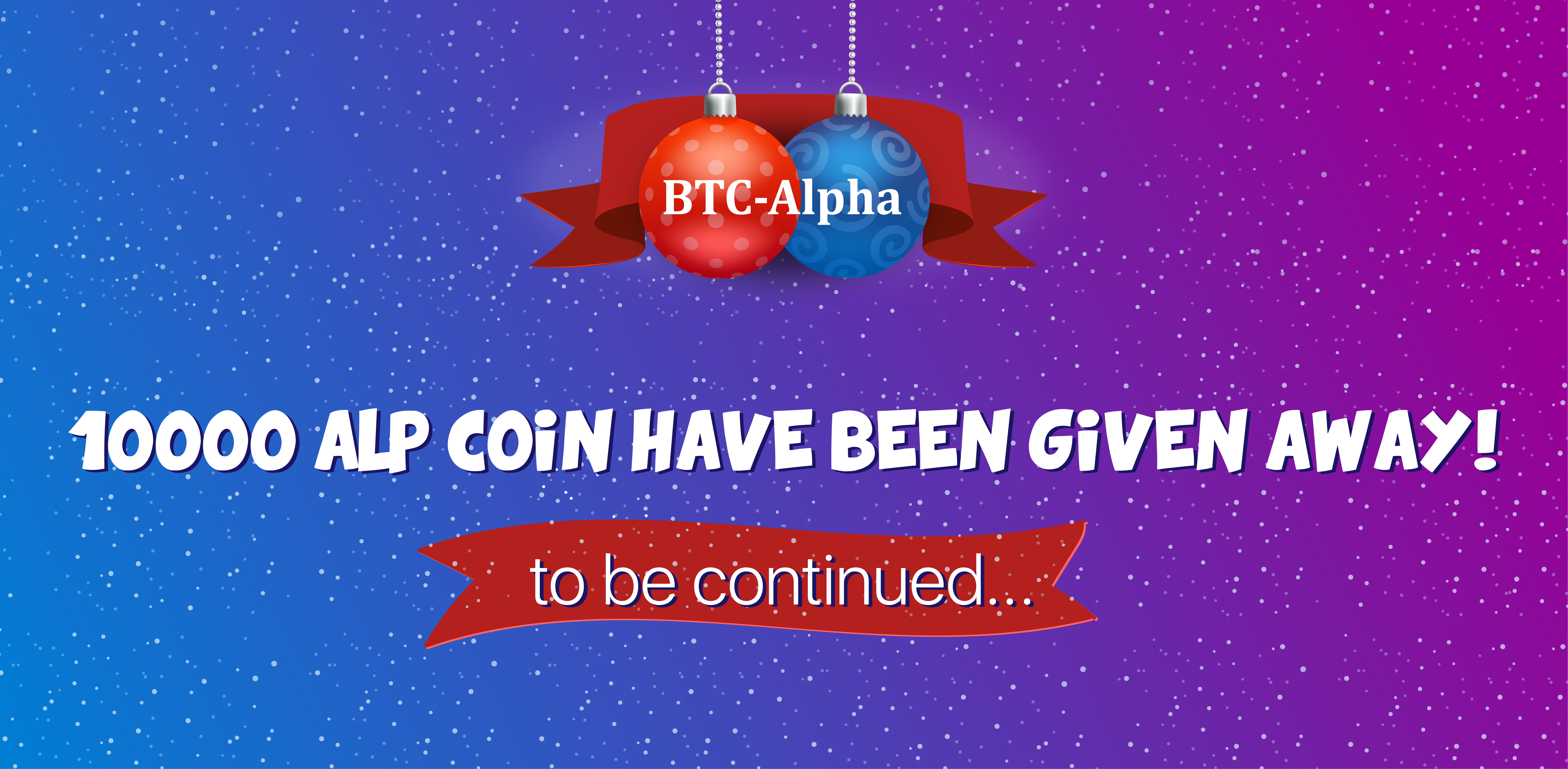 🎉 New year contest is over — 10,000 ALP Coin have been given away❕