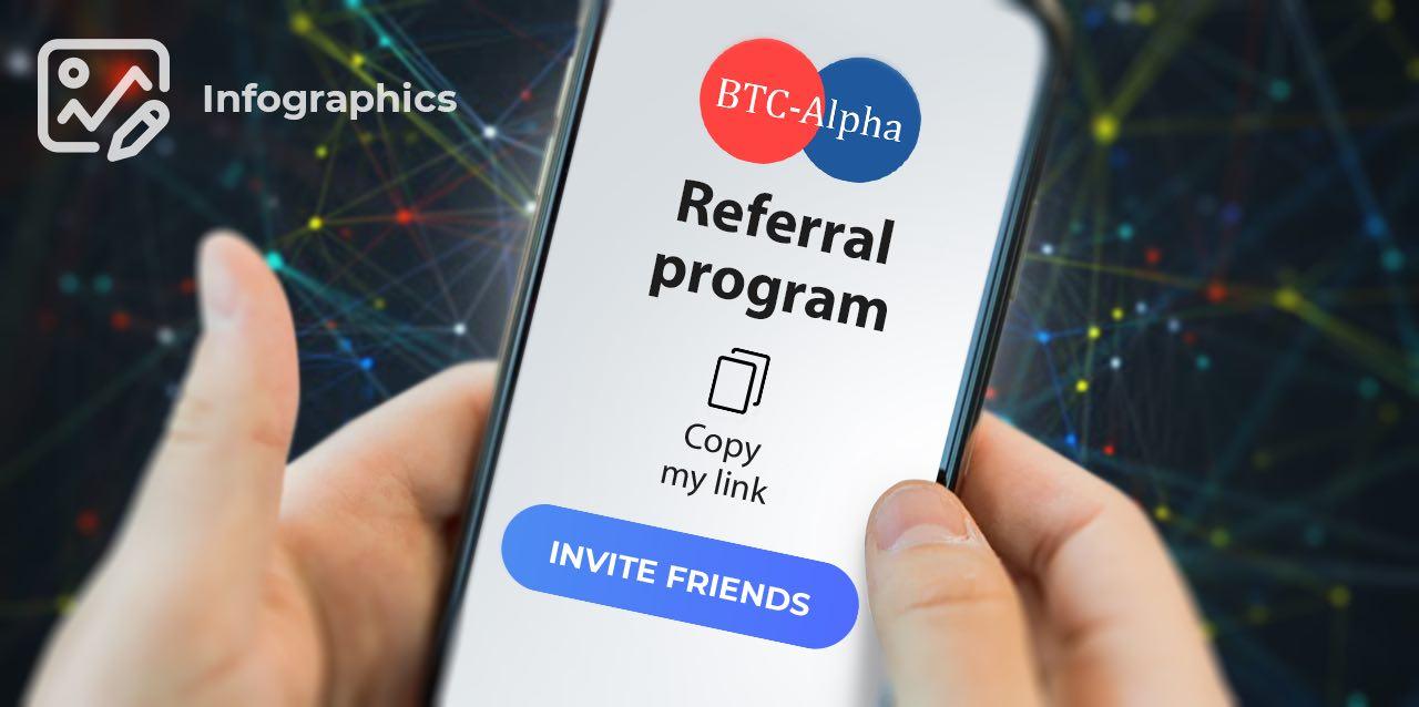 Двухсторонняя выгода с новой реферальной программой от BTC-Alpha