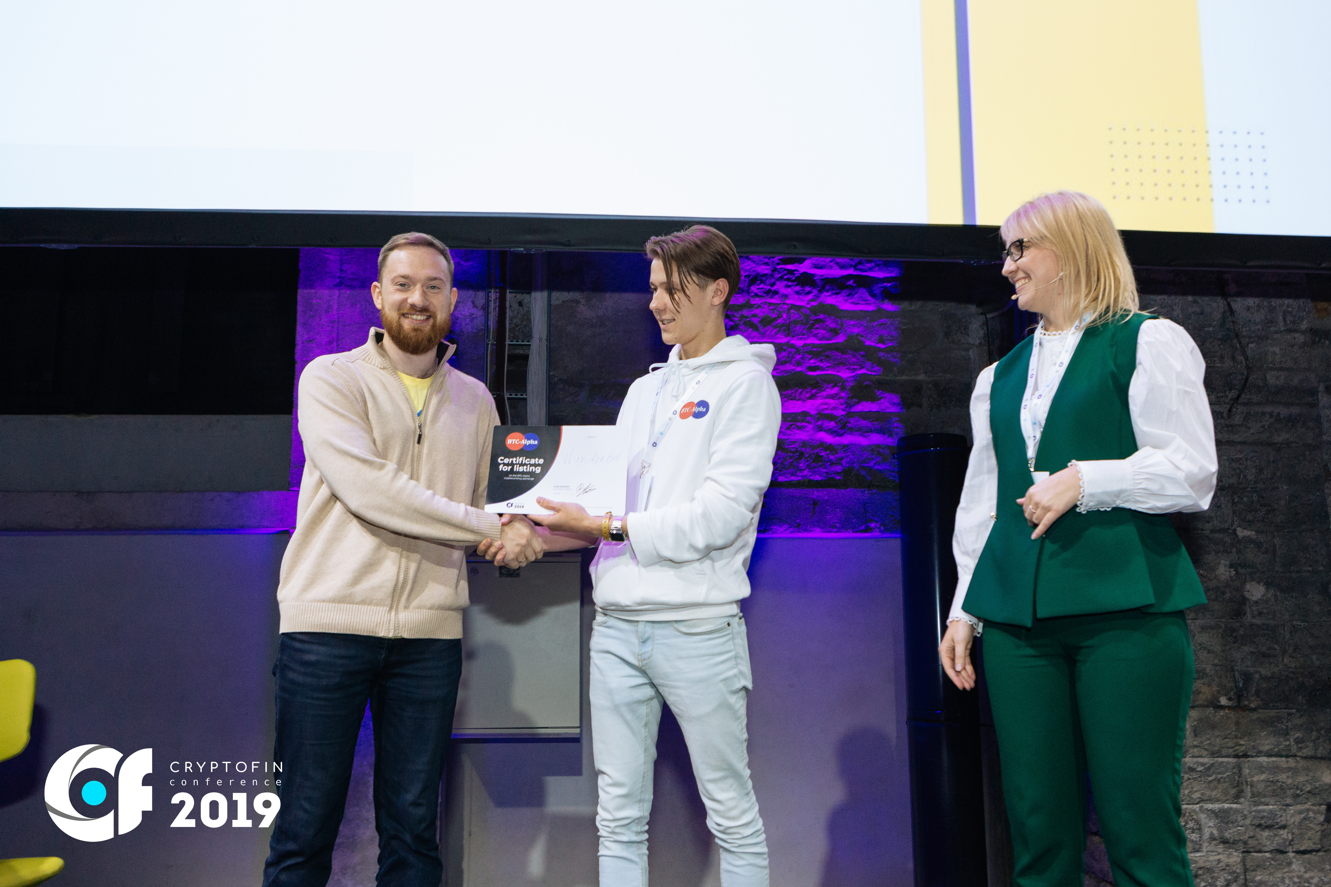 BTC-Alpha became the silver sponsor of the CryptoFin conference in Tallinn