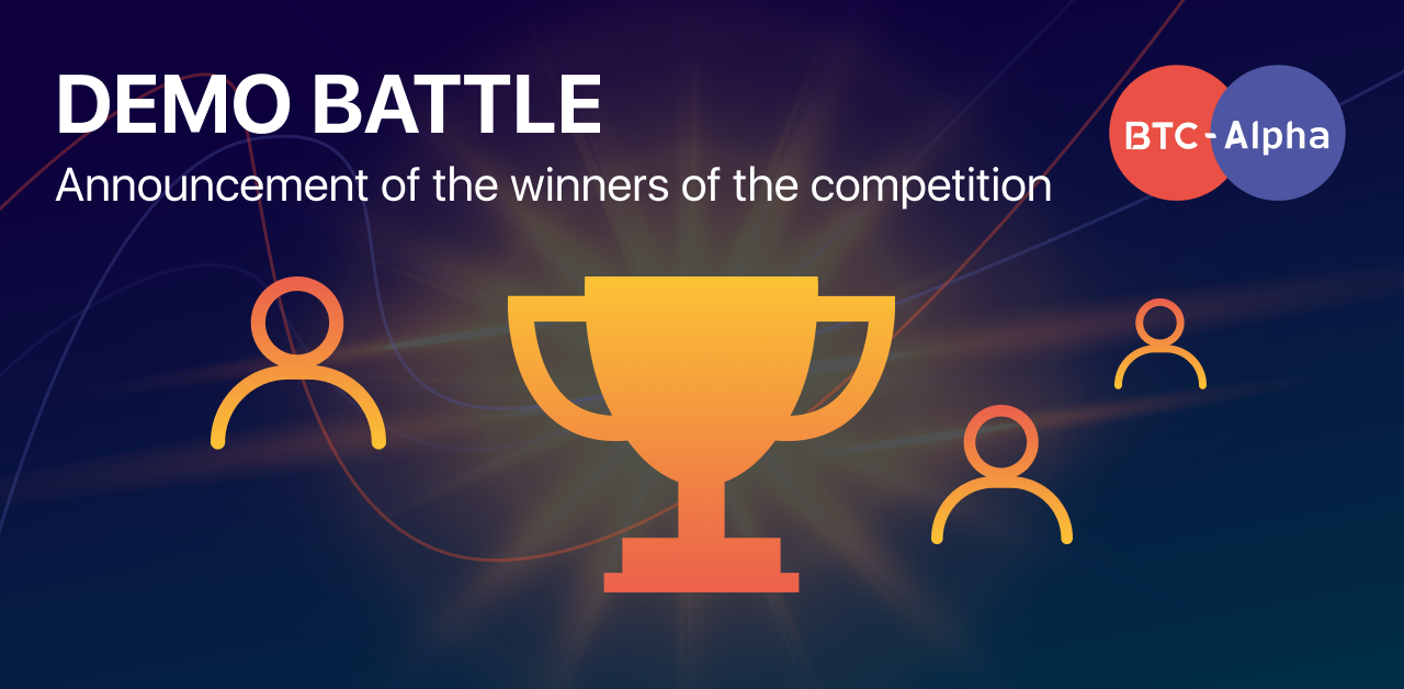 🎉Congratulations to the winners of the Demo Battle!