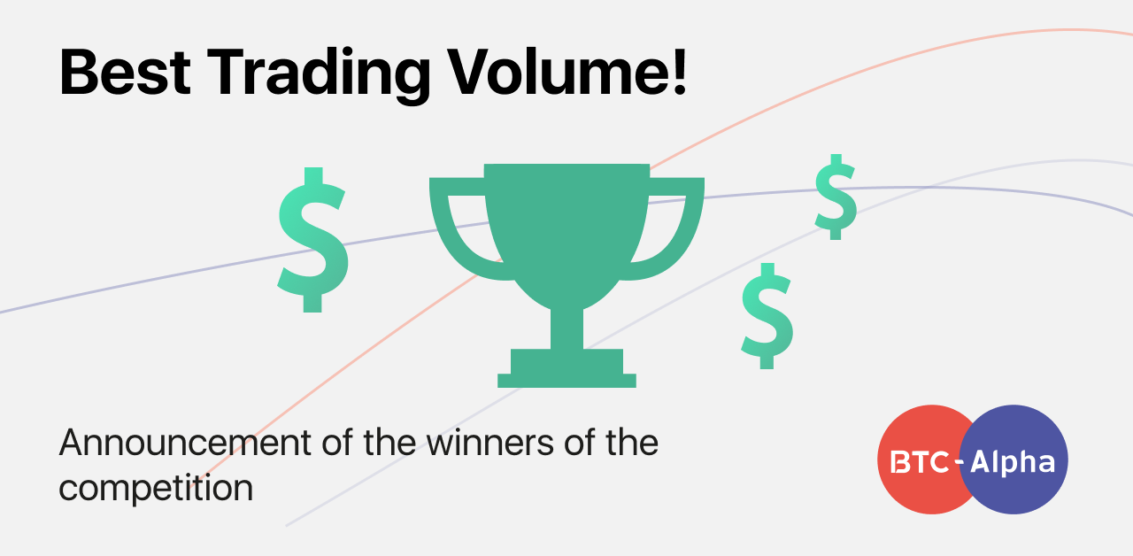 Best Trading Volume: Contest Results!